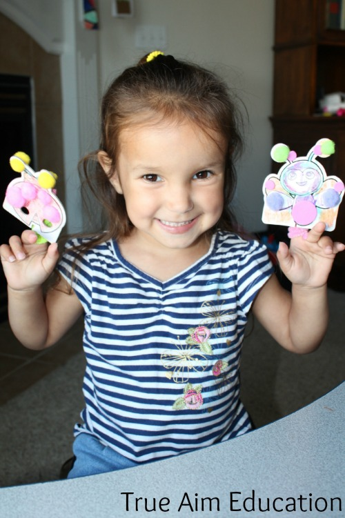 diy finger puppets with pom tree kids
