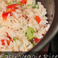 Kid Friendly Recipes: Easy Veggie Rice