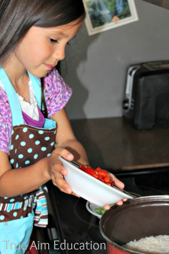 kid friendly recipes, easy veggie rice
