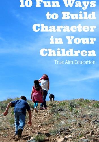 build character in your children