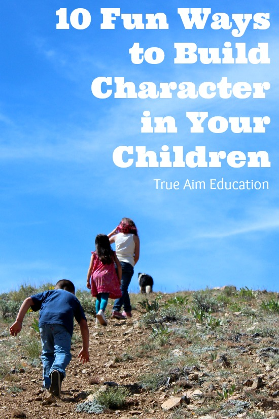 build character in your children