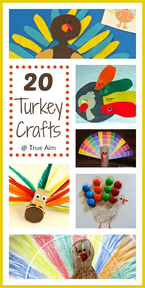 20 turkey crafts and activities for kids