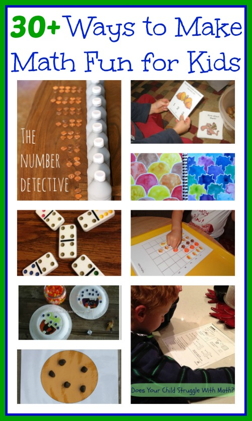 30 ways to make math fun for kids