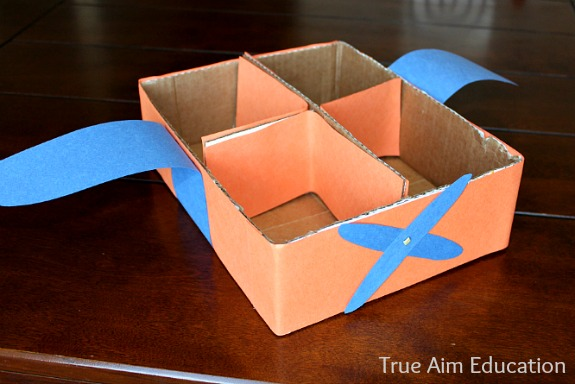 Disney Planes Movie DIY Airplane snack box #shop