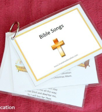 27 Bible Songs for Kids Free Printable