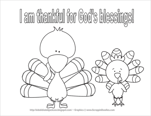 free christian thanksgiving coloring pages - photo#2