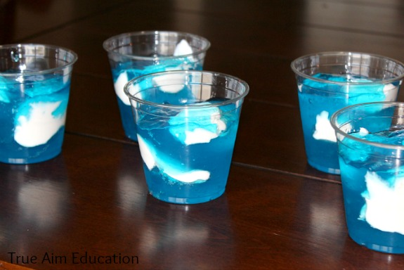 Jello Cloud Parfaits for disney planes theme #shop