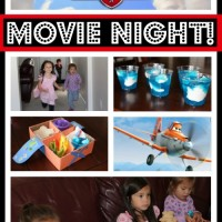Teaching Children About Courage: Disney Planes Movie Night
