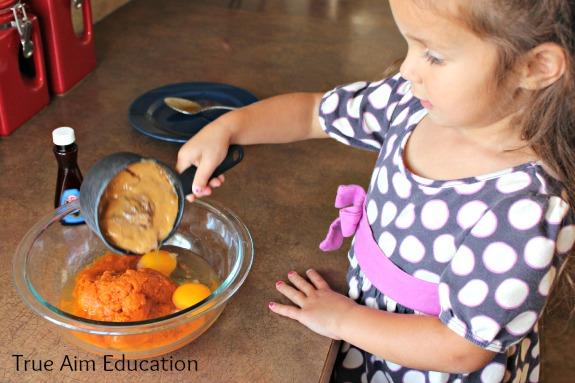 gluten free pumpkin cake nut butter