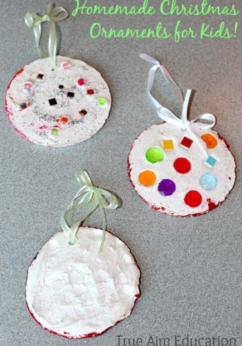 Homemade Christmas Ornaments Kids Can Make and a Craft Giveaway!