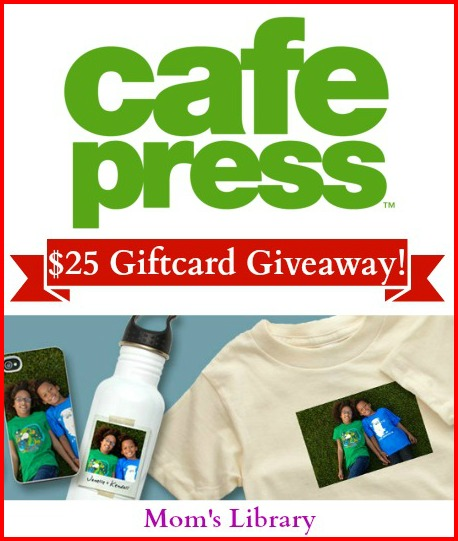 CafePress personalized gifts Giveaway