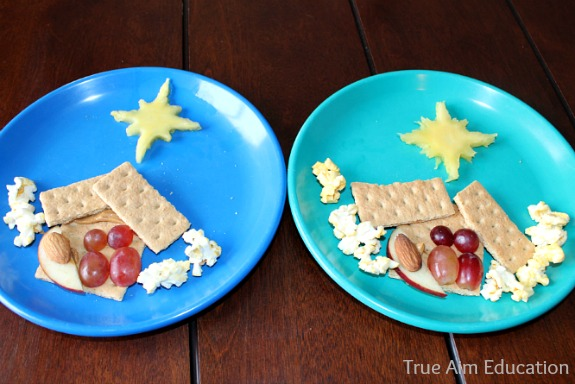 nativity scene snack activity