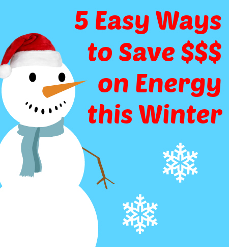 save money on energy this winter
