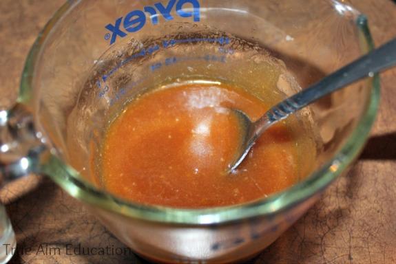 sweetener for homemade granola