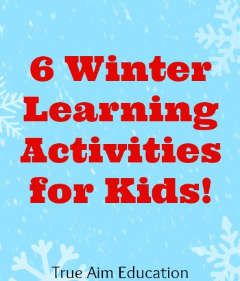 6 Winter learning activities for kids
