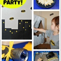 Batman Birthday Themed Party Ideas and a Cake Giveaway!