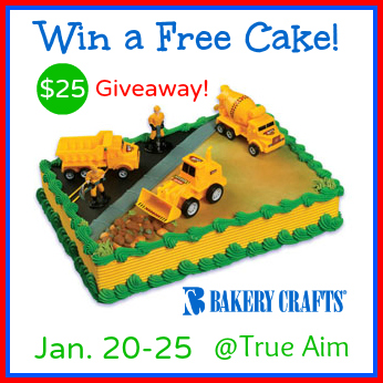birthday cake giveaway