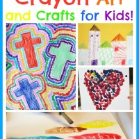 The Ultimate Guide to Crayon Art and Crafts!