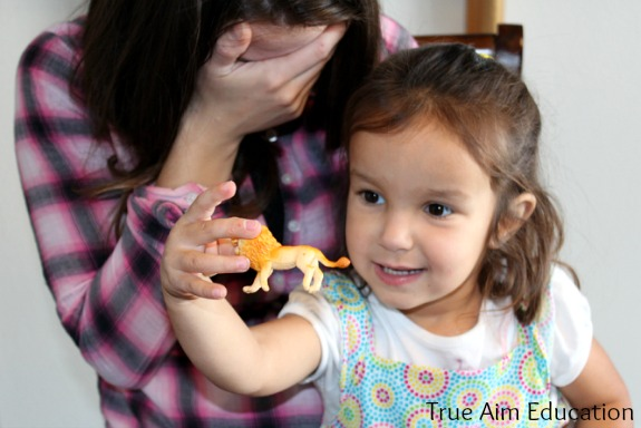 pre reading activity and preschool memory game