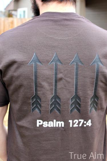 psalm 127 custom t-shirt