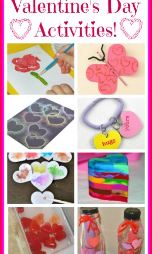 10 Valentines Day Activities for Kids and Mom's Library #79