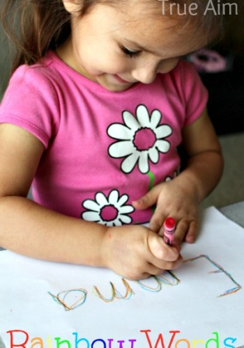 writing and spelling activity