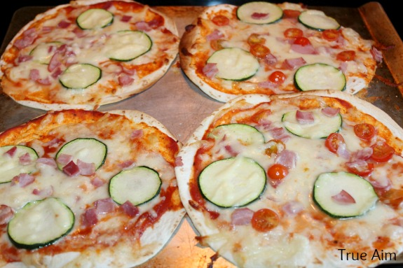 5 second pizza crust