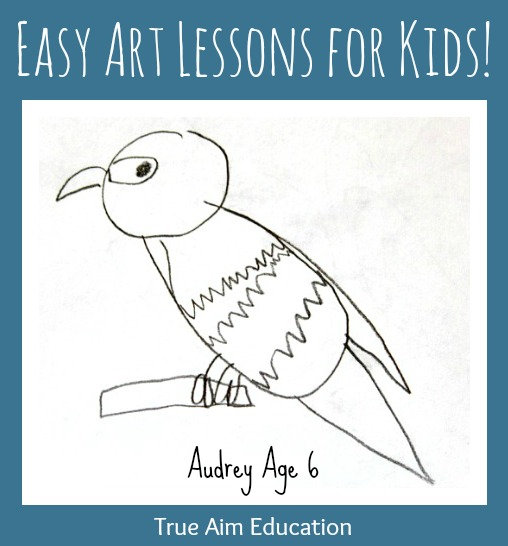Easy Art Lessons For Kids Step By Step Drawing Lessons Enable