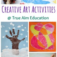 Creative Art Activities for Kids and Mom's Library #82