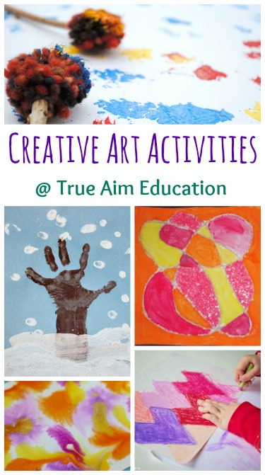 creative art activities for kids and mom 39 s library 82