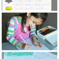 Giveaway! Custom Handwriting Practice Worksheets from StartWrite
