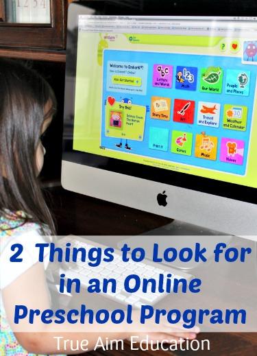 How to find the best online preschool program