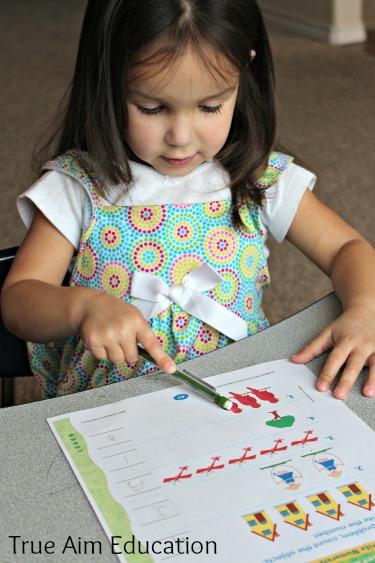 online preschool program with printables