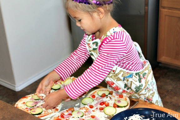 cooking with kids pizza recipe