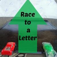 Preschool Learning: Race to a Letter