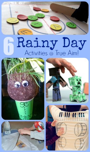 6 Unique Rainy Day Activities For Kids True Aim