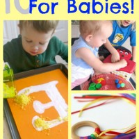 10+ Learning Activities for Babies and Mom's Library #85