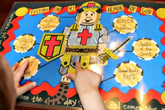 bible placemat