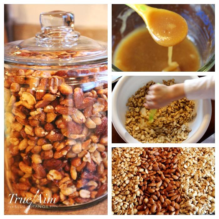 homemade honey roasted mixed nuts recipe