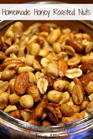 Homemade Honey Roasted Nuts