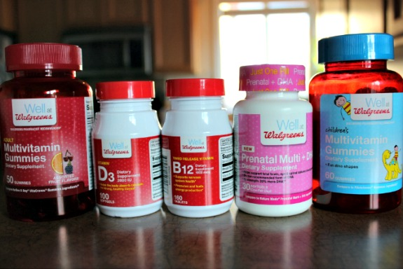 recommended vitamins #shop #wellatwalgreens