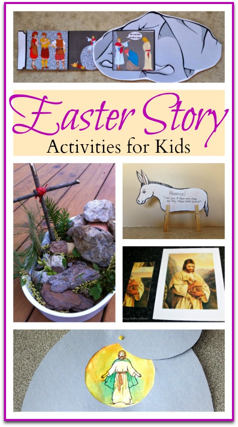 Easter Story Activities for kids