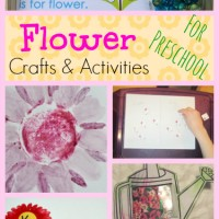 Preschool Flower Crafts and Activities: Mom's Library #92