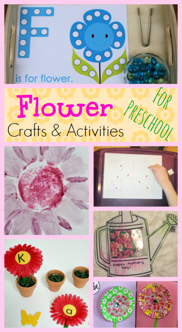 Flower Crafts and activities