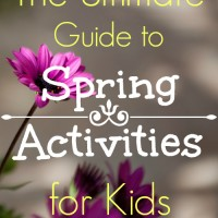 The Ultimate Guide to Spring Activities for Kids and Mom's Library #88