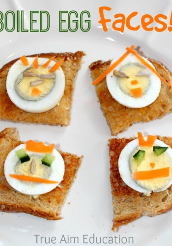 boiled egg snack for kids