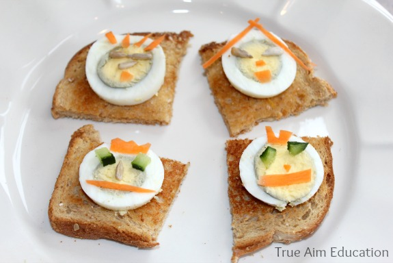 boiled egg snack