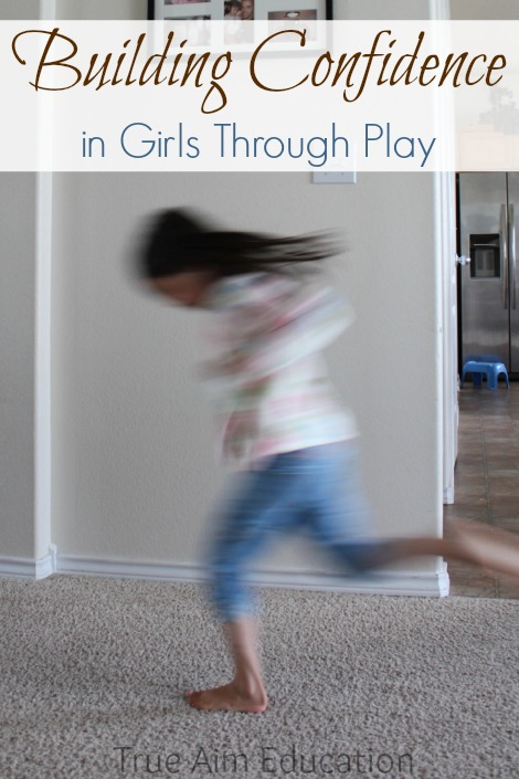 building confidence in girls through play