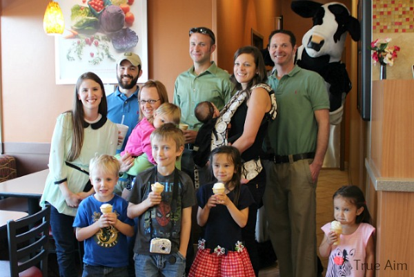 chick-fil-a party
