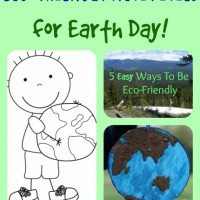 Earth Day Activities and Mom's Library #91